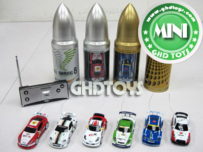 1:58 4CH Bullet Can Mini RC Car