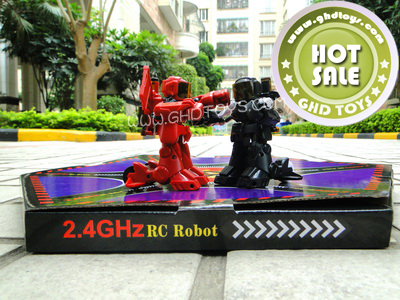 2.4 G wii remote control of the robot
