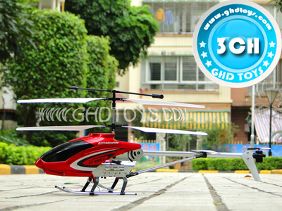 3CH WITH GYRO wireless R/C HELICOPTER