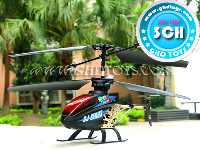 3CH Infrared remote control alloy aircraft with gyroscope (DIY LED) R/C HELICOPTER
