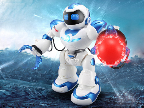 Intelligent Remote Control Robot Albert
