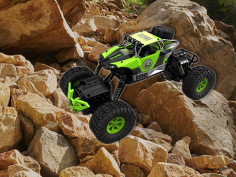 1:16 four-driven dual-steering waterproof climbing car (including electricity)